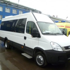 IVECO DAILY-Метан; 20+6 мест;